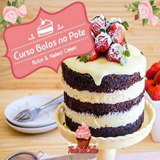 Curso Online De Bolo No Pote E Naked Cakes com a Chef Marcia Tozo